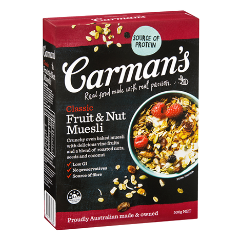 Classic Fruit & Nut Muesli