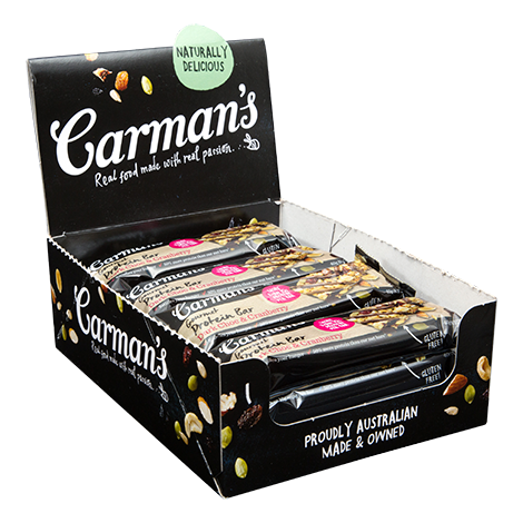 Dark Choc & Cranberry Gourmet Protein Bars 40g