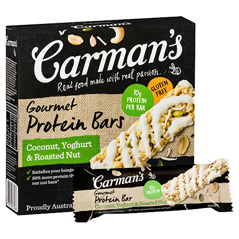 Coconut, Yoghurt & Roasted Nut Gourmet Protein Bars