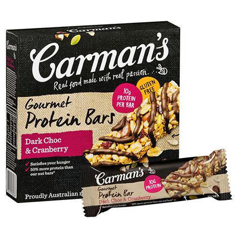 Dark Choc & Cranberry Gourmet Protein Bars