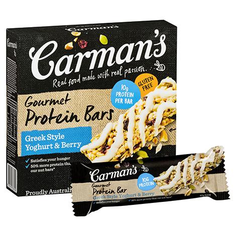 Greek Style Yoghurt & Berry Gourmet Protein Bars