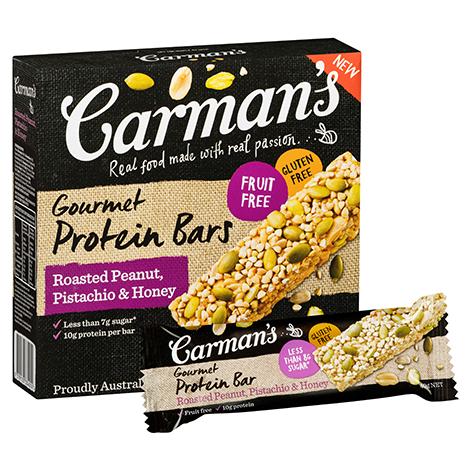 Roasted Peanut, Pistachio & Honey Gourmet Protein Bars