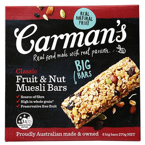 Classic Fruit & Nut Muesli Bars