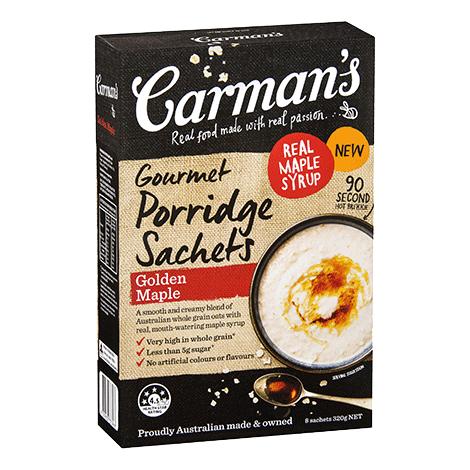 Golden Maple Gourmet Porridge Sachets