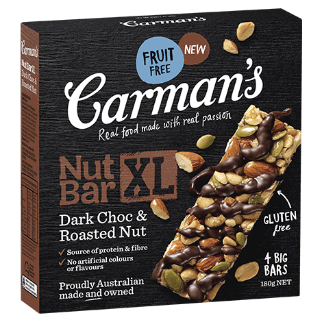 Dark Choc & Roasted Nut XL Nut Bar