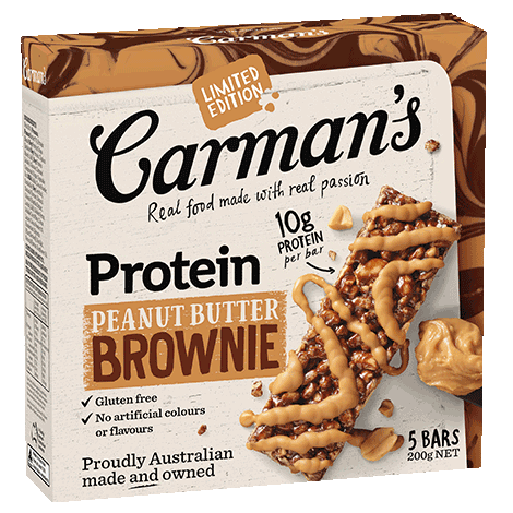 Peanut Butter Brownie Protein Bars